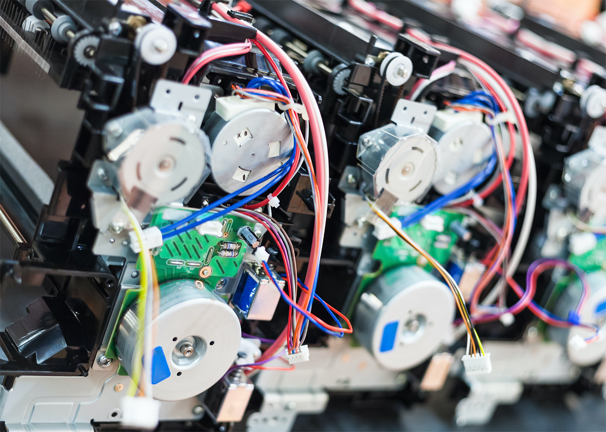 Electro mechanical assemblies